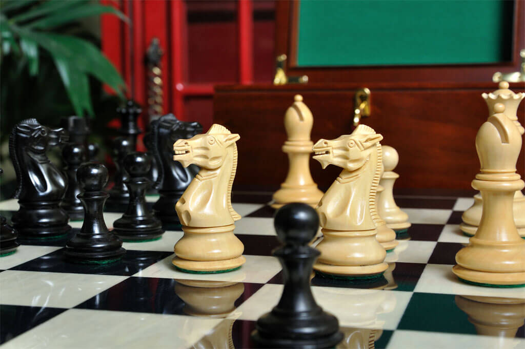 Uscf Sales The Players Chess Set Pieces Only 3 75 King Ebay