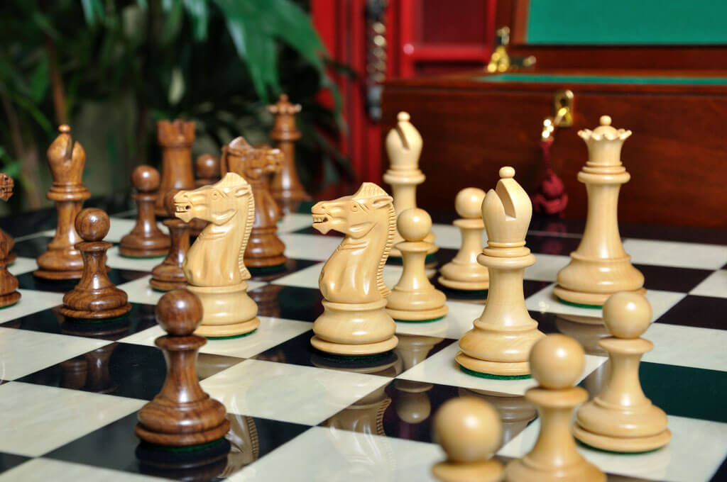 The Players Chess Set Pieces Only 3 75 King Ebay