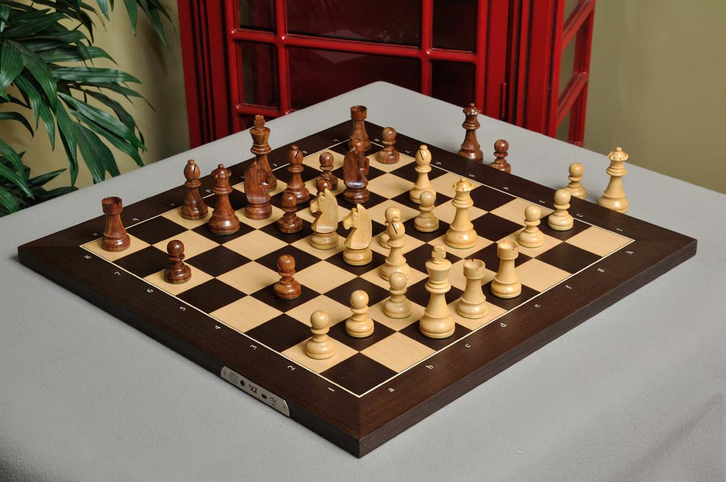 The DGT Projects Electronic Chess Board eBoard USB Wenge with