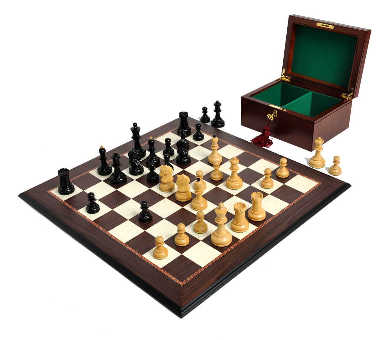 Contemporary Chess Set The Dubrovnik Chess Set Box Amp Board Combination