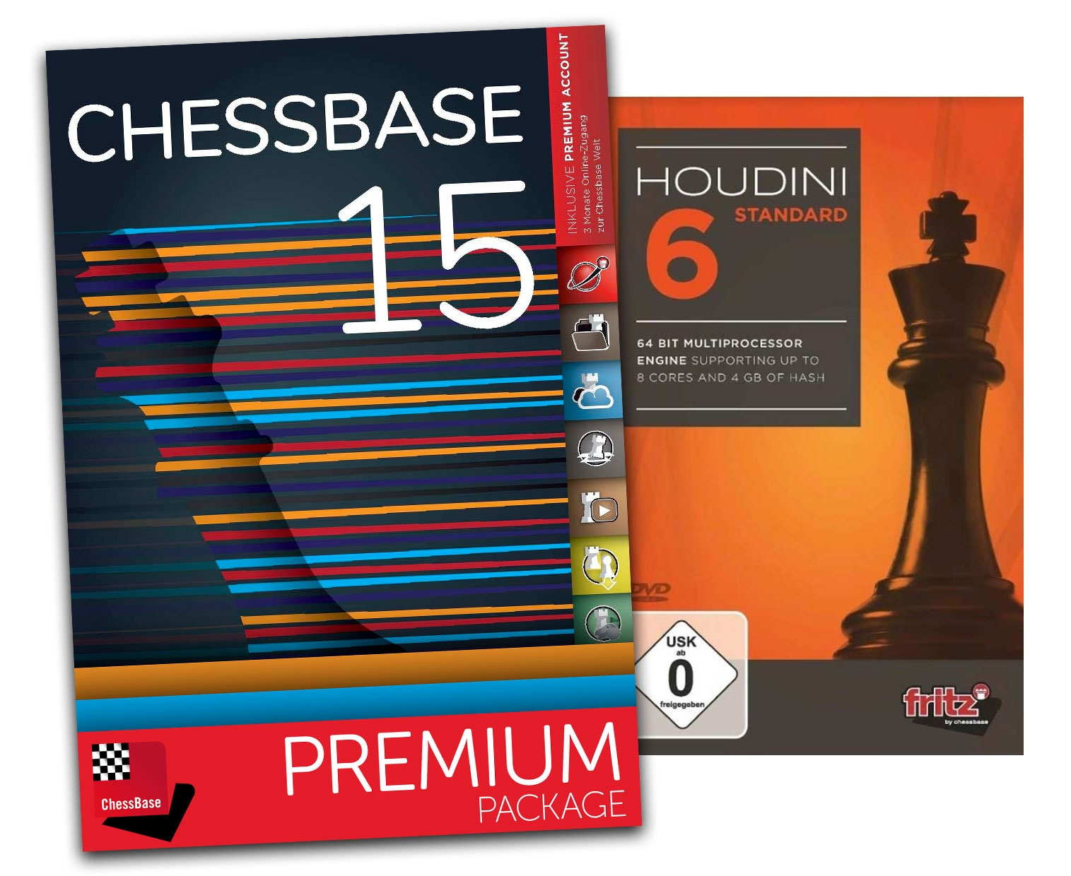 Details about Houdini 6 Standard and ChessBase 15 Premium - Bundle Chess  Software