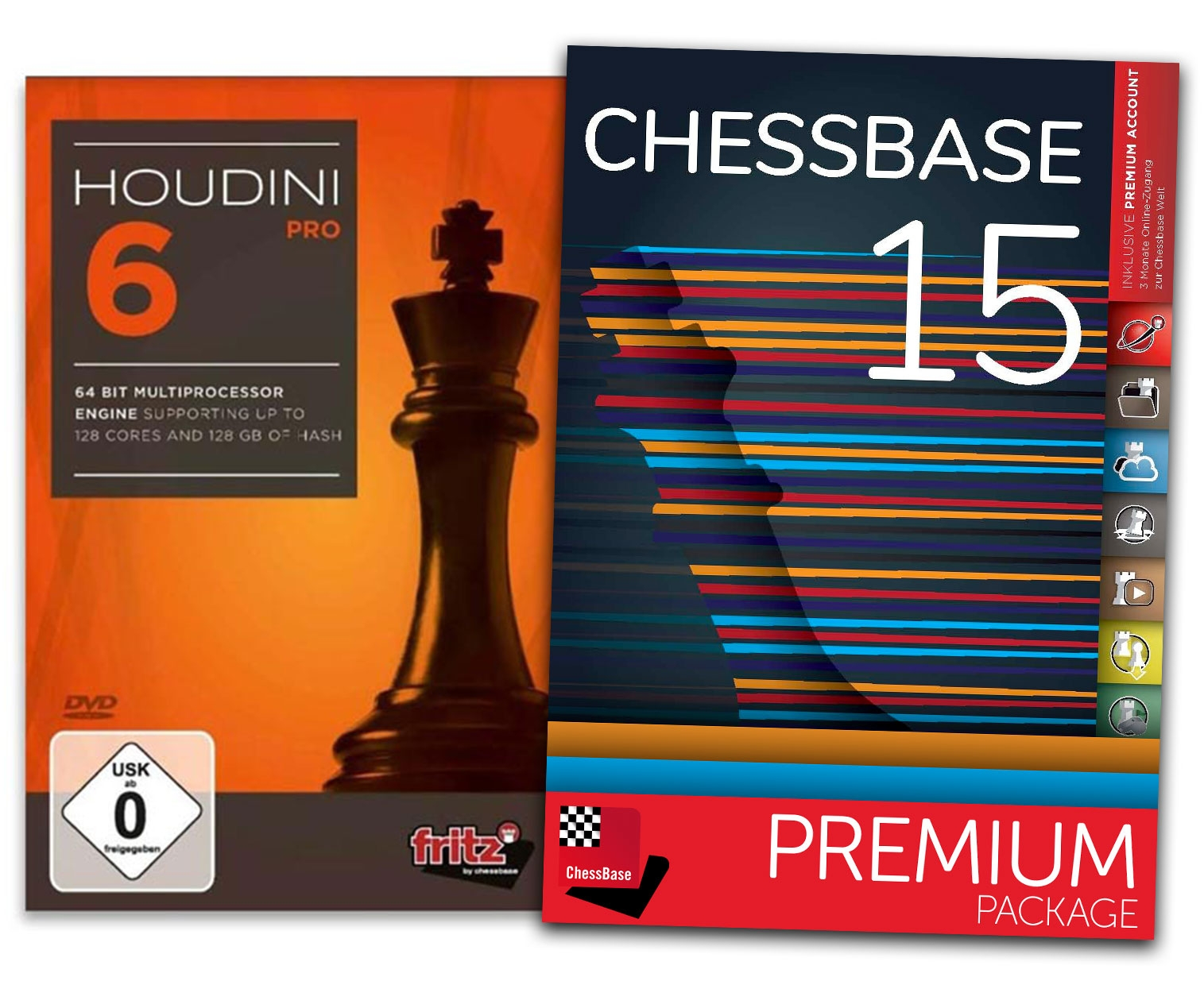 Details about Houdini 6 Pro and ChessBase 15 Premium - Bundle Chess Software