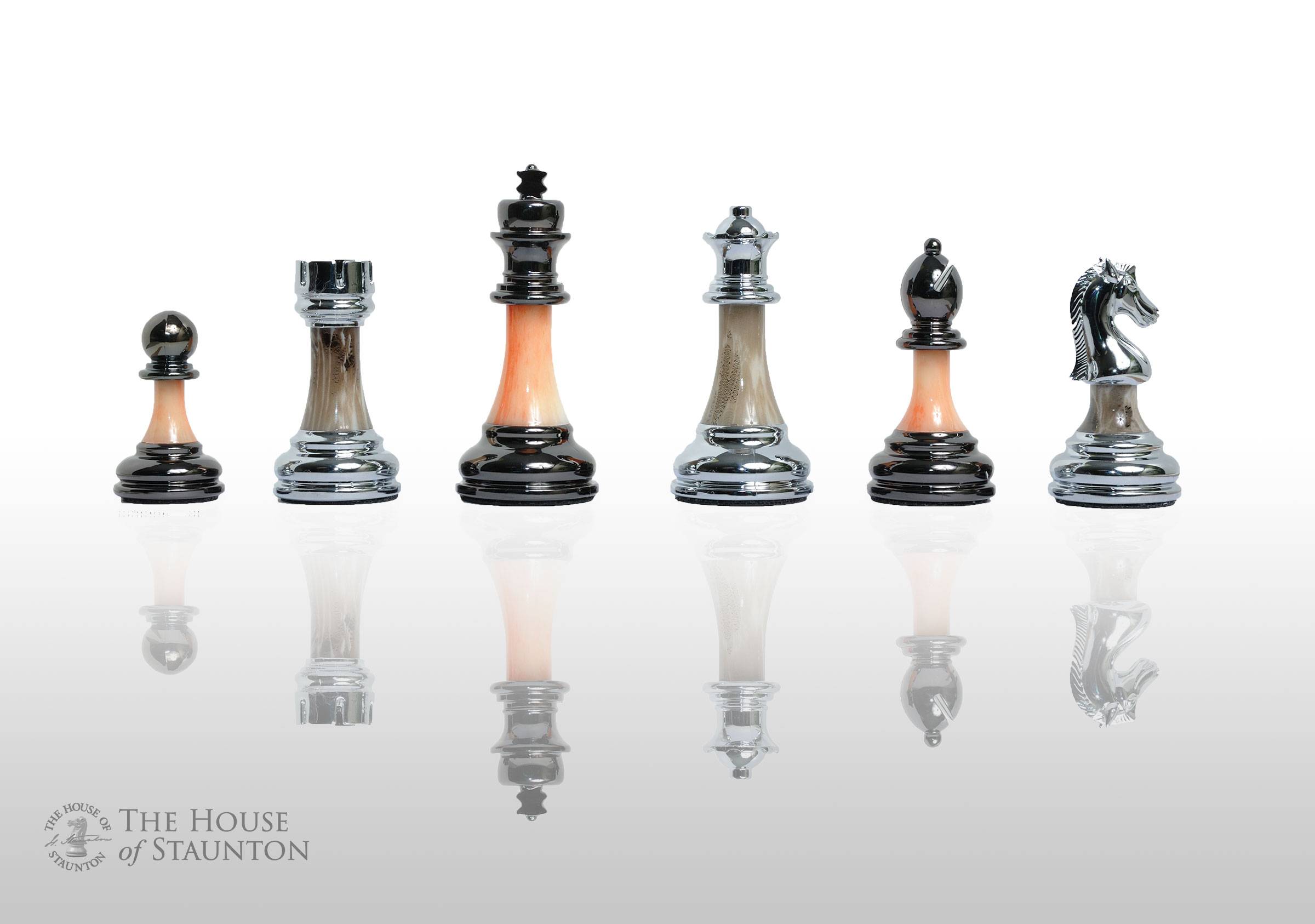 The Contemporary Chess Series Pieces Only 3 5 King