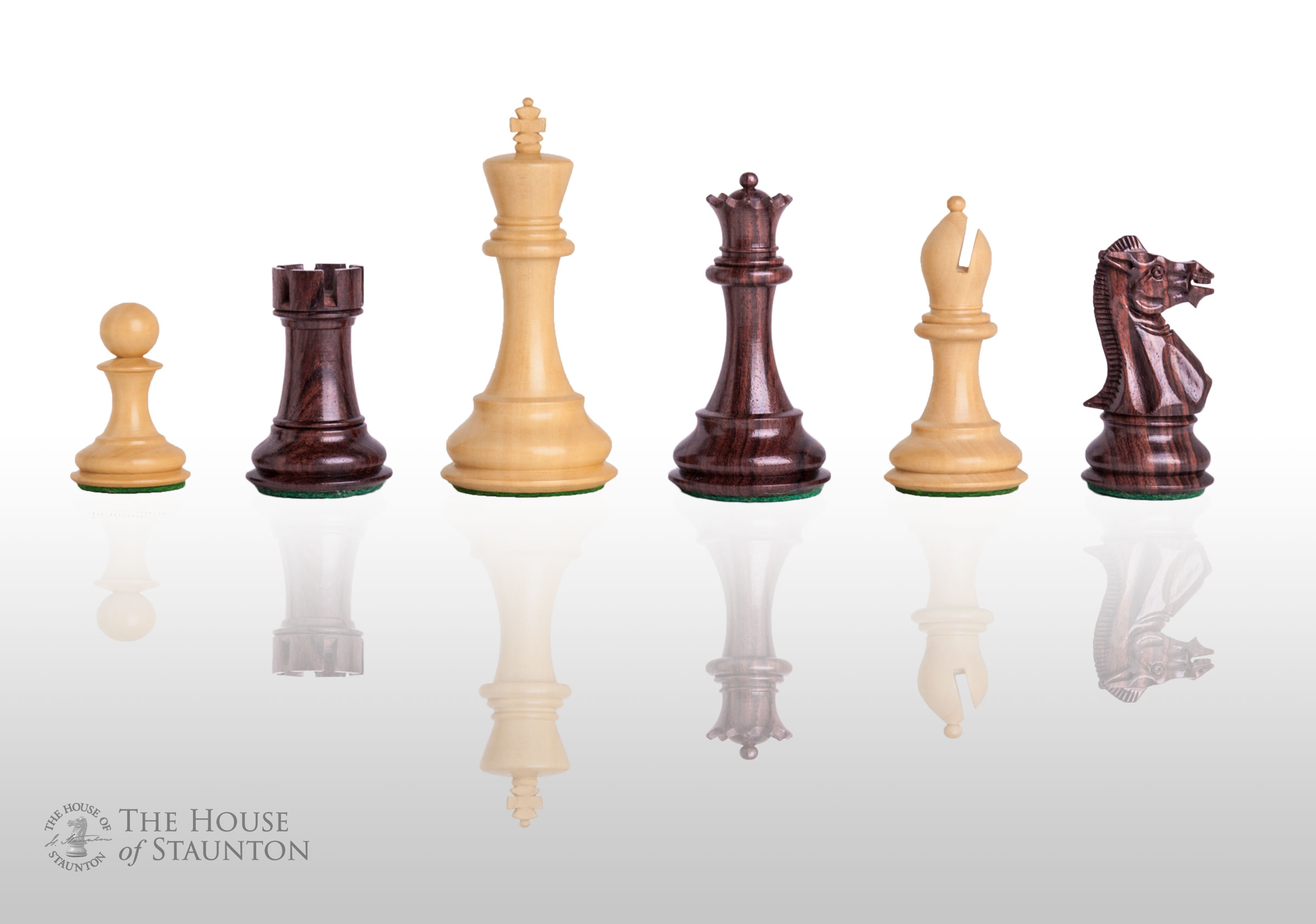 The Players Chess Set Pieces Only King Indian