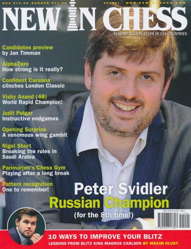 Details about New In Chess Magazine - Issue 2018/1 (Chess Book)