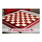 "Signature Contemporary II Chess Board - Purpleheart / Curly Maple - 2.5"" Squares"
