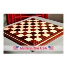 "Signature Contemporary II Chess Board - Cocobolo / Curly Maple - 2.5"" Squares"
