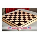 "Signature Contemporary II Chess Board - Curly Maple / African Palisander - 2.5"" Squares"