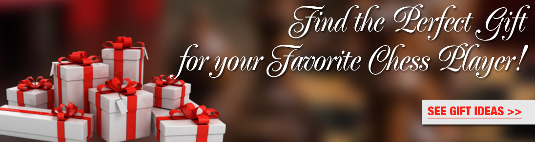 Find the perfect gift for your favorite chess player at The House of Staunton!