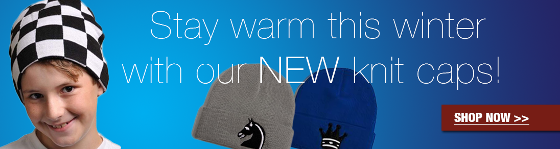 Stay warm this winter with our new selection of knit caps at USCF Sales!