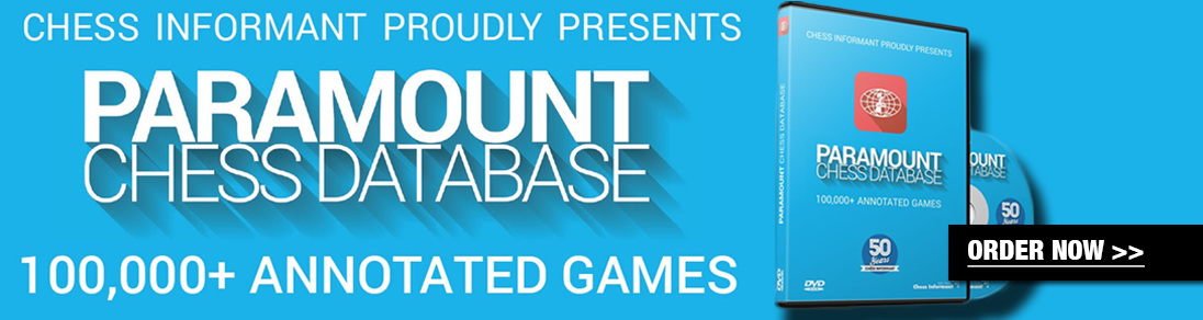 Paramount Chess Database features over 100,000 annotated games. Order your copy today at The House of Staunton!