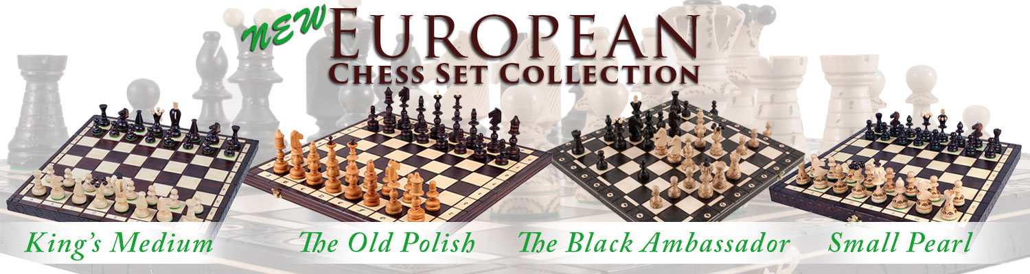 NEW European Chess Sets at The House of Staunton!
